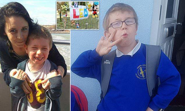 Boy, 8, dies in his bunk bed after breaking his skull in bike accident