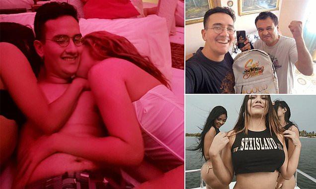 Boy, 16, 'loses his virginity after winning Sex Island ticket'