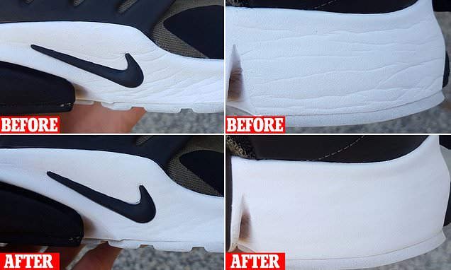 Man shares his simple trick for making his sneakers brand new again