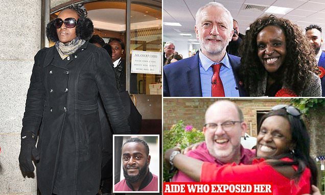 Bare-faced deceit of Corbynista tipped to be first female black PM