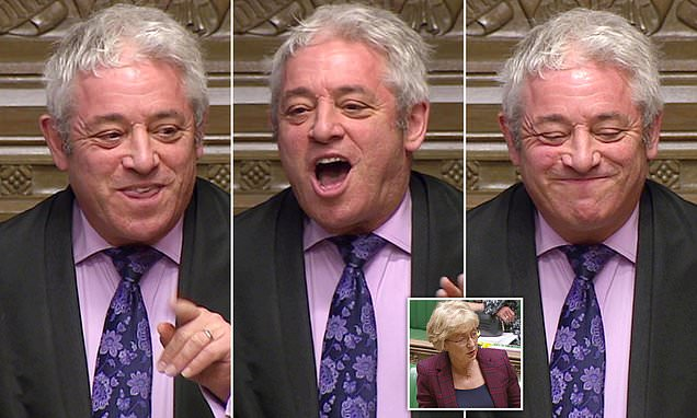 QUENTIN LETTS watches as John Bercow is dragged into sexism row