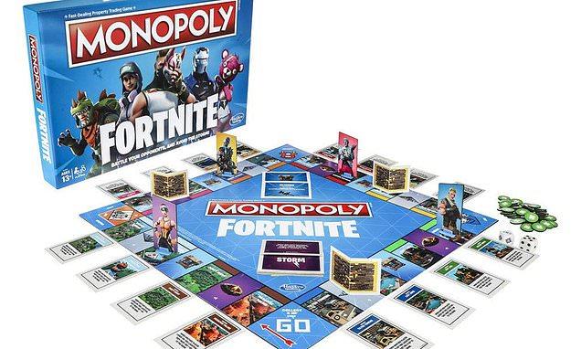 Popular online battle game Fortnite gets Monopoly makeover