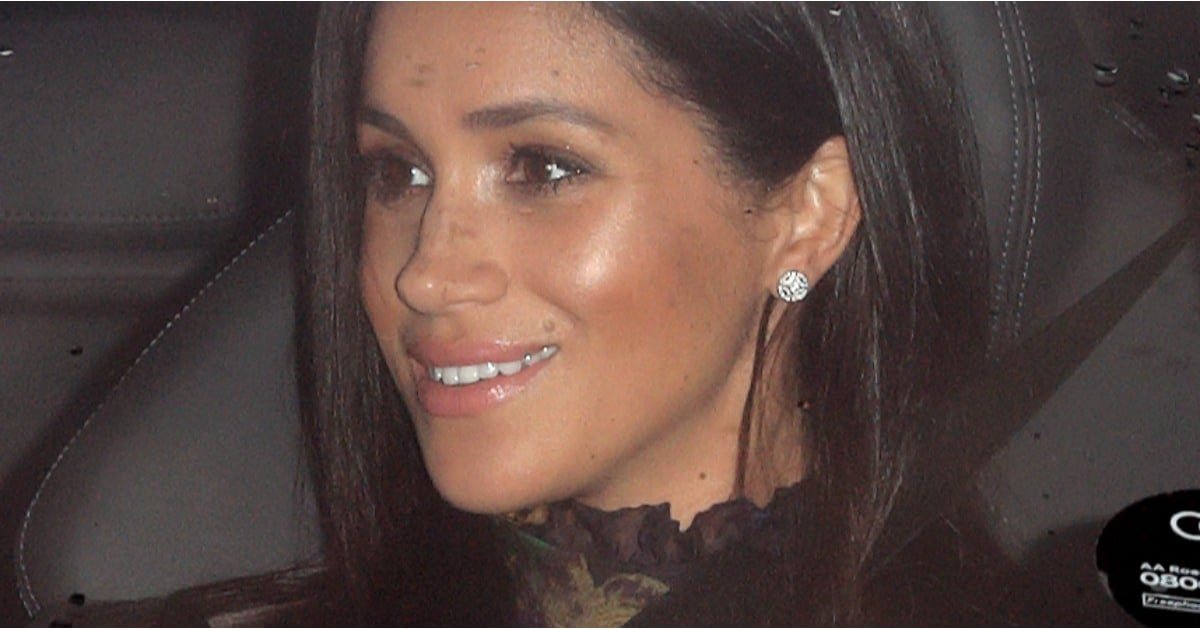 Meghan's Sentimental Jewelry Choice Makes the Royal Christmas Lunch Even More Perfect