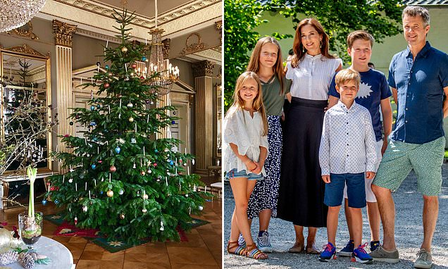 Crown Princess Mary unveils her traditional Christmas tree