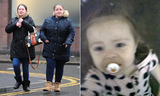 Mother and her partner admit starving two-year-old girl to death