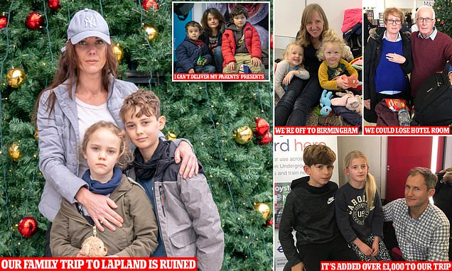 Flightmare before Christmas: Tears of those caught in Gatwick mayhem