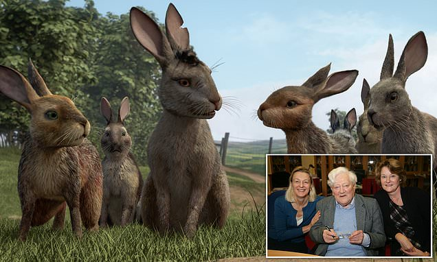 Daughters of Watership Down author Richard Adams on BBC adaptation