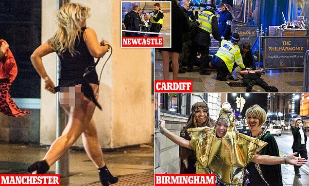 Black Eye Friday erupts across UK as drunken antics get out of hand