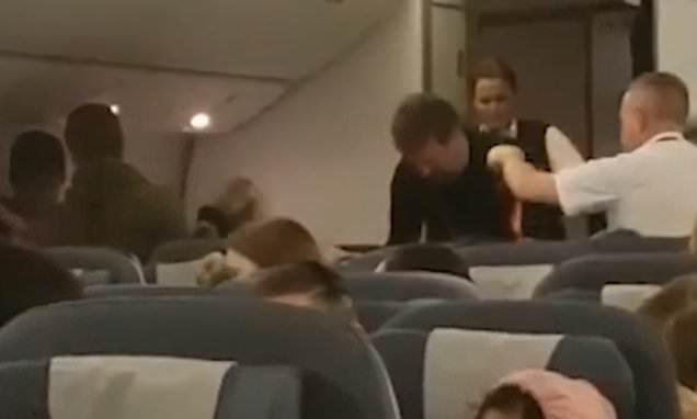 Dramatic moment British Airways flight forced to return to Heathrow
