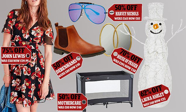 Shops slash prices in bid to tempt shoppers back to high street