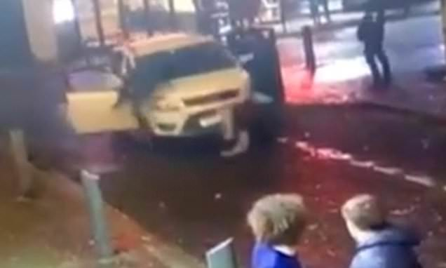 Car ploughs into revellers queuing outside nightclub