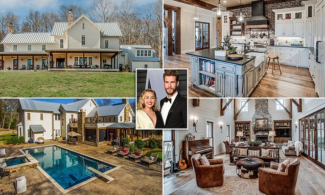Inside Miley and Liam Hemsworth's $8.2M mansion they got 'married'