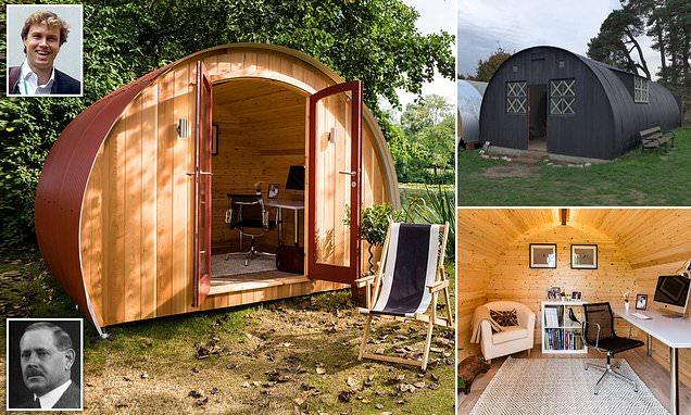 Nissen huts which got Britain through two World Wars are reinvented