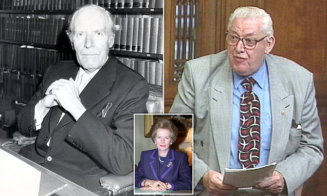 How Margaret Thatcher's attorney general awoke from surgery