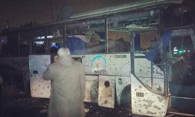 Egypt bomb blast kills two and injures 10 near pyramids