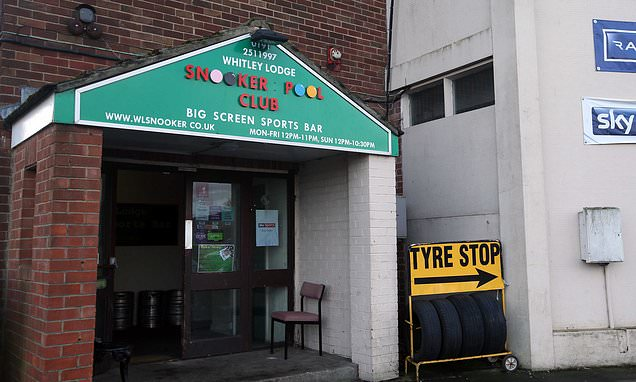 Watch empty pint glass EXPLODE in 'haunted' snooker club