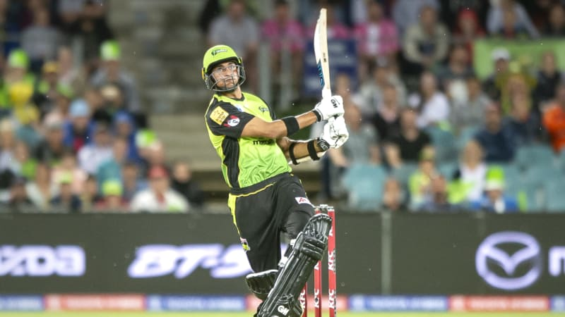 Sangha sizzles on debut as Melbourne Stars get Thunderstruck