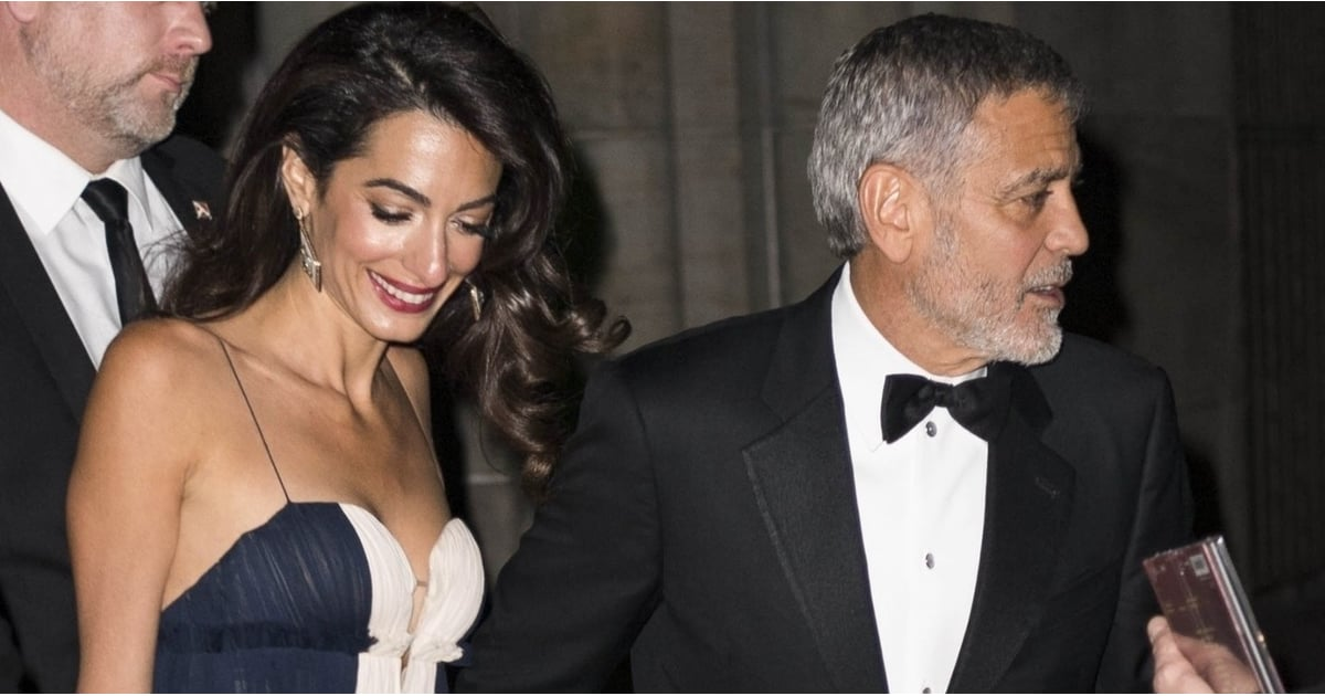 Every Detail of Amal Clooney's Gala Gown Works So Damn Well, It's Sheer Genius