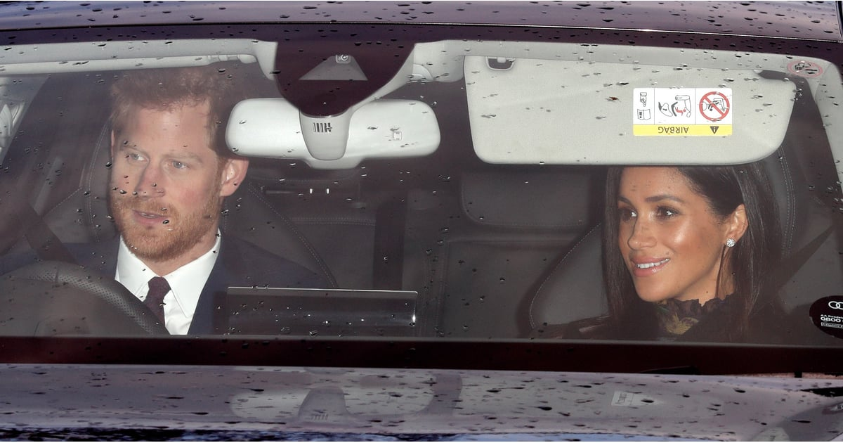 The Royal Fab Four Is All Smiles as They Arrive For Christmas Lunch With the Queen
