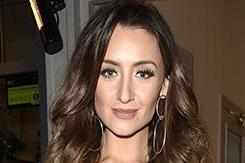 Catherine Tyldesley glams up to support Leanne Brown at her 'explosive tell all' book launch