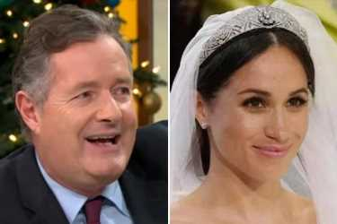 Meghan Markle is 'acting her way to the top' says Piers Morgan – as he claims she GHOSTED him