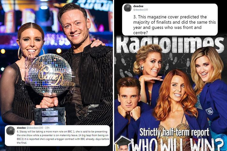 Strictly fan theory 'proves' Stacey Dooley's win was 'a fix' for NINE reasons