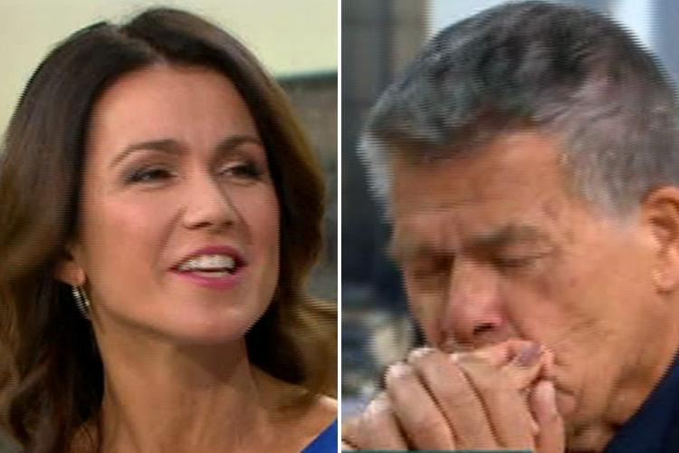 Susanna Reid shocked after being kissed by 'age fluid' campaigner Emile Ratelband