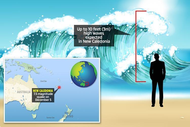 New Caledonia earthquakes spark 'immediate' mass evacuations as tsunami waves are spotted off island coast