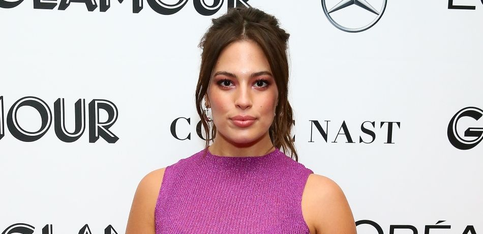 Ashley Graham Shows Some Skin In A Black & Leopard Print Crop Top