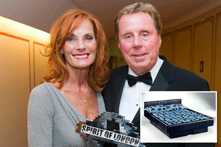 Harry Redknapp shocks I'm A Celeb fans as he reveals he sleeps on a water bed with wife Sandra