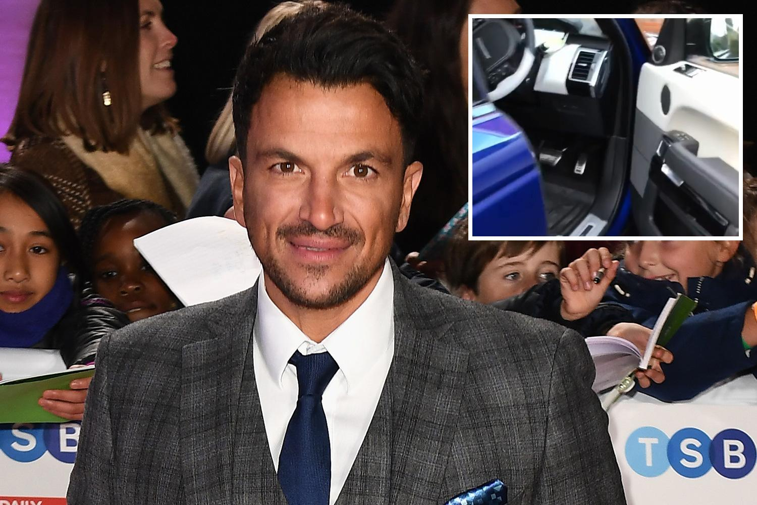 Peter Andre accused of 'showing off' as he test drives £300k worth of cars without making his mind up