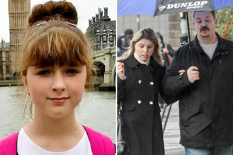 Girl, 14, 'who was raped and murdered in park by boy, 16, was found with her stepdad's semen in her knickers', defence claims