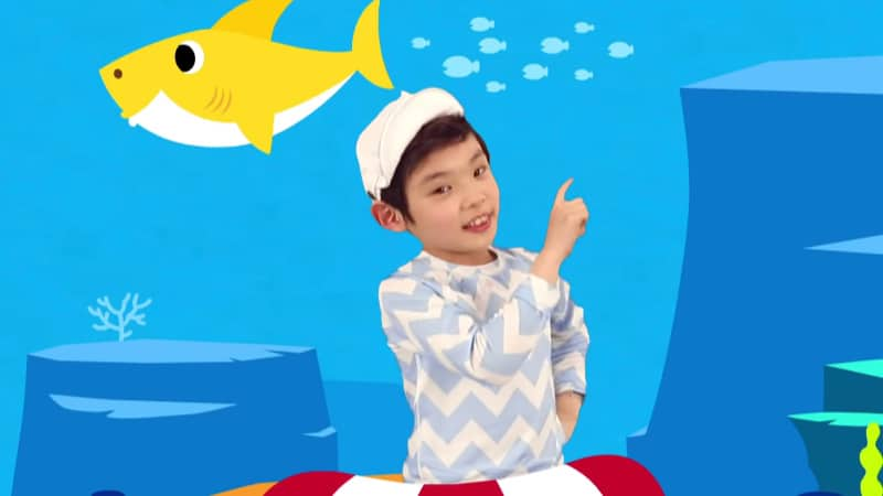 Baby Shark was such a hit for kids that it topped Google searches in 2018