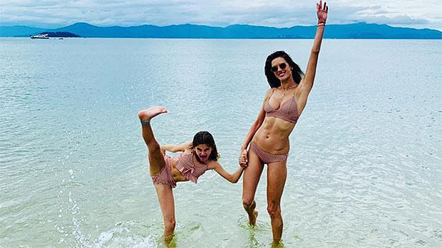 12 Stars Celebrating The Holiday Season In Bikinis: Alessandra Ambrosio & More