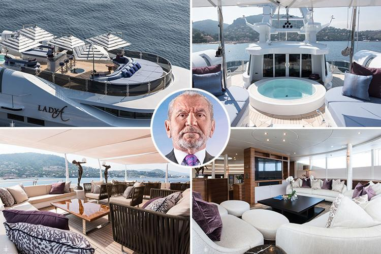The Apprentice 'sales guru' Lord Sugar STILL can't flog his £12m super-yacht despite a year on the market and showing it off on BBC show