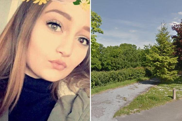 Heartbroken girl, 15, hanged herself at same spot where her dad took his own life nine years earlier before developers bulldozed woodland for housing