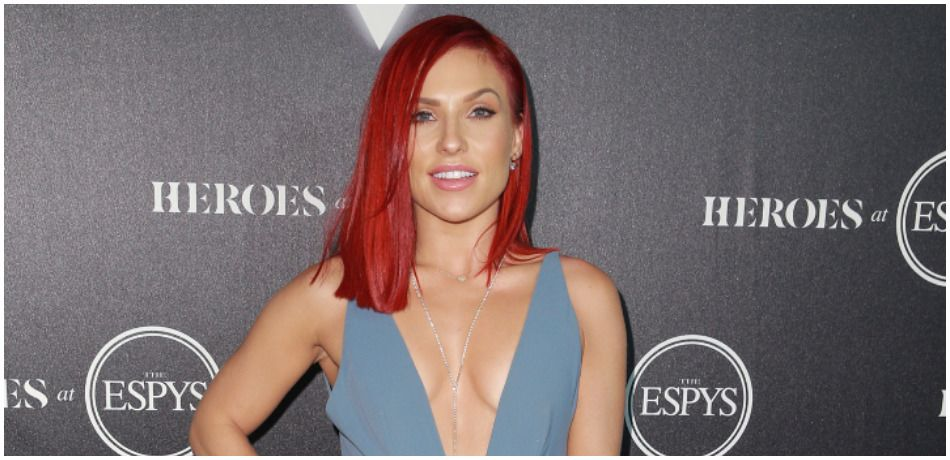 'DWTS' Pro Sharna Burgess Shares Sexy Bikini Photo, Says She's 'Grateful For This Life I Live'