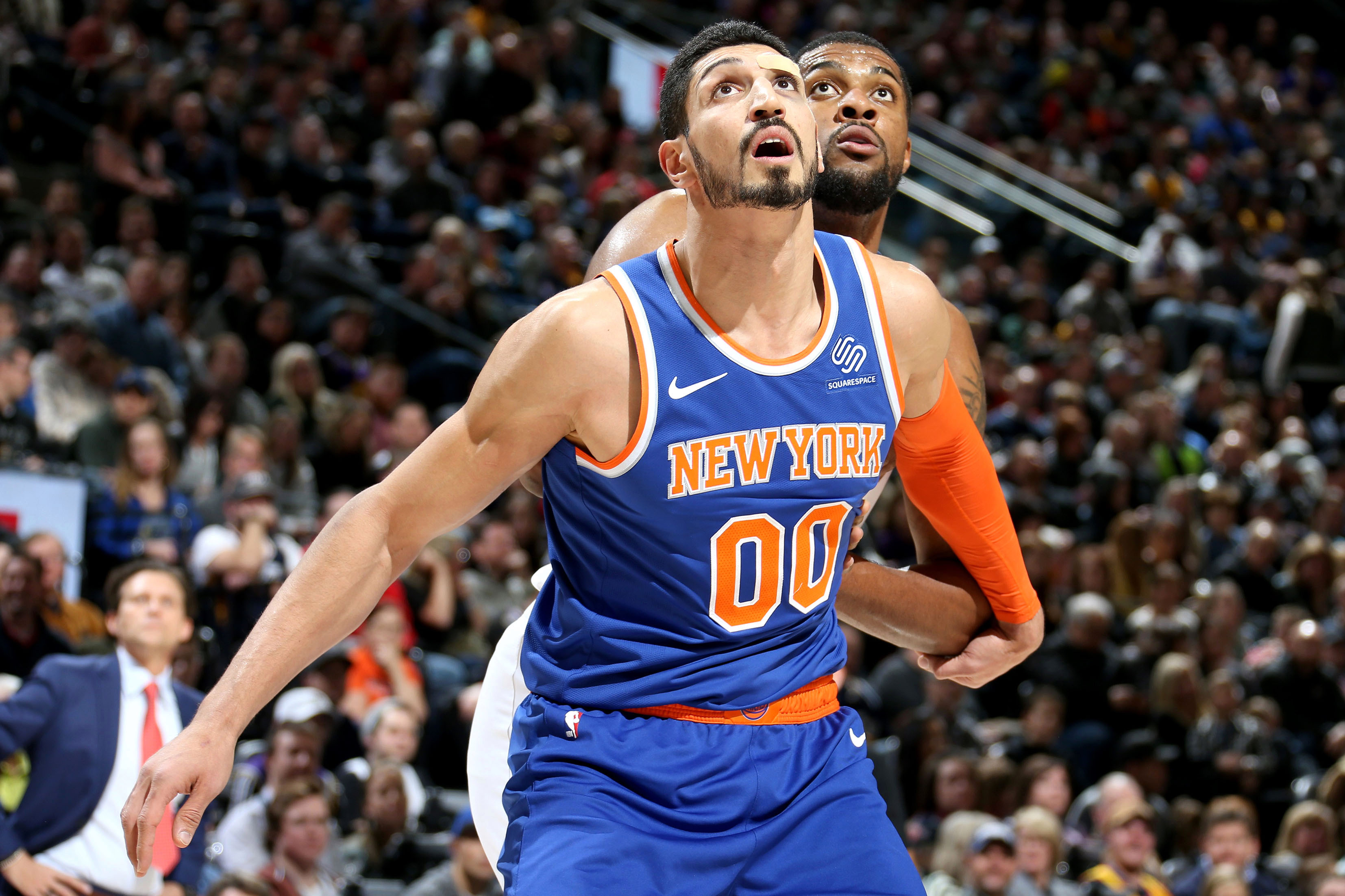 Enes Kanter doesn't know why Knicks are 'shutting' him down
