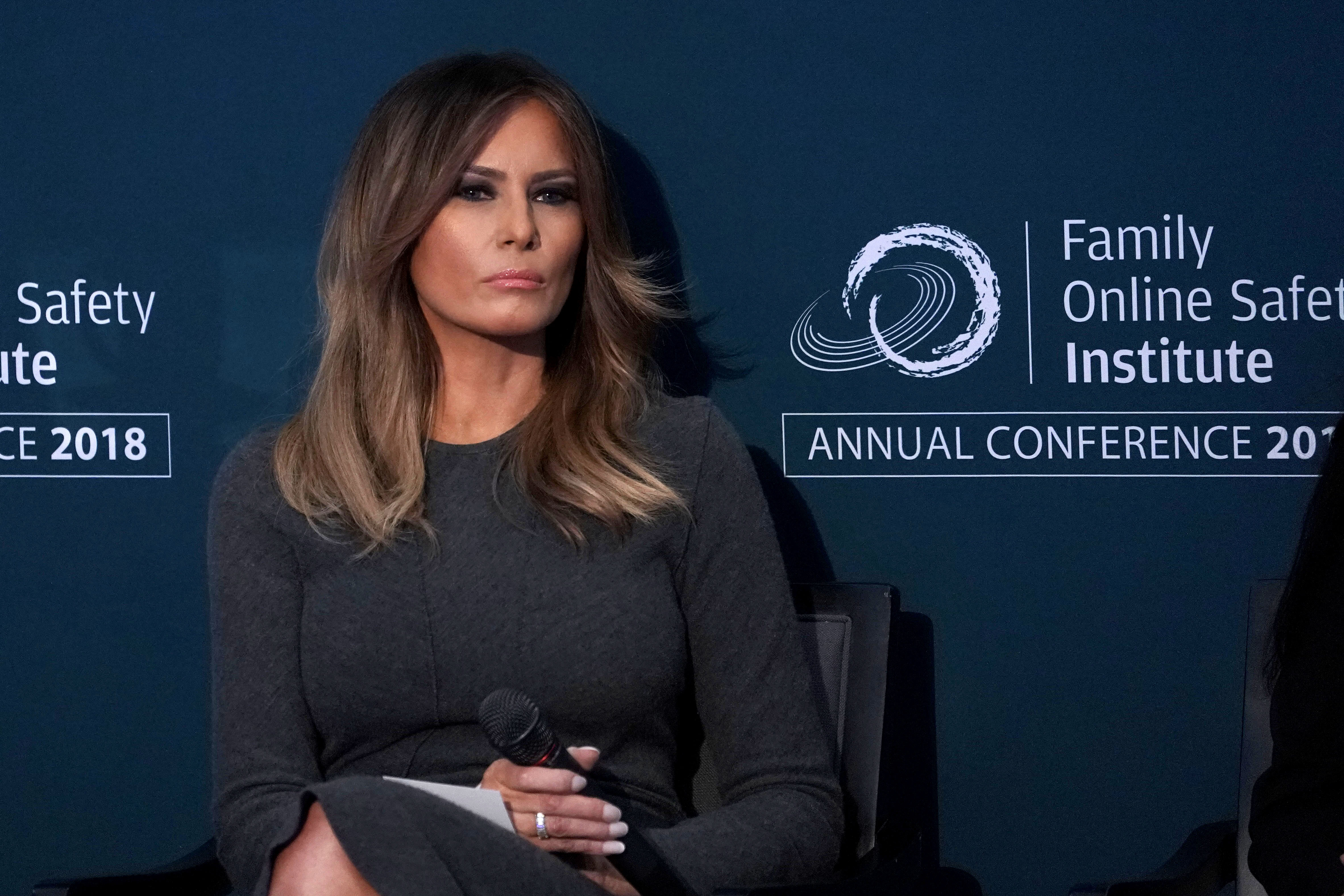 Melania blasts 'opportunists,' says media focuses too much on 'nonsense'