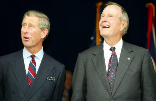 Were Prince Charles and George H.W. Bush Friends?