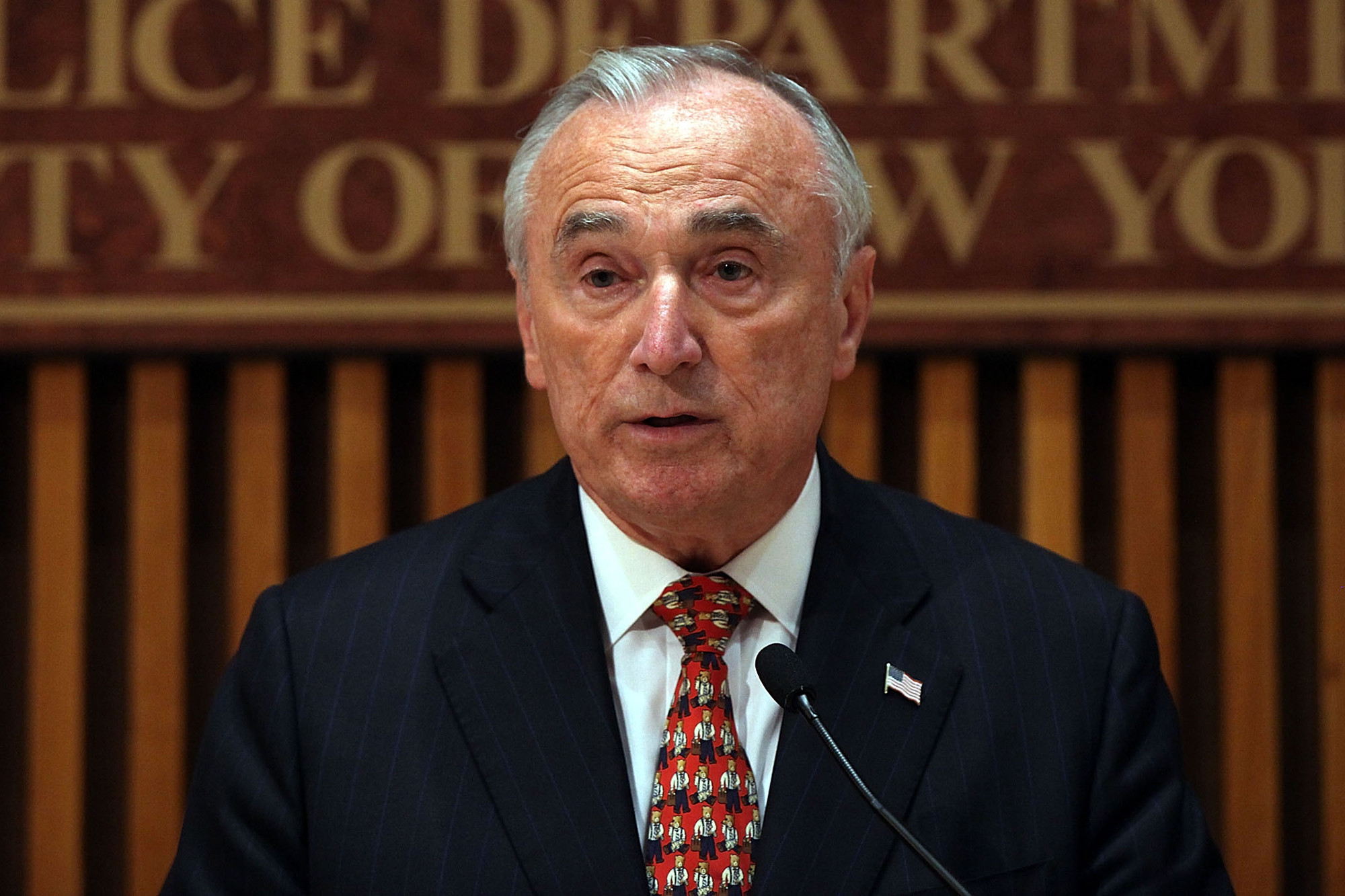 Former NYPD Commissioner Bill Bratton not sold on recreational pot