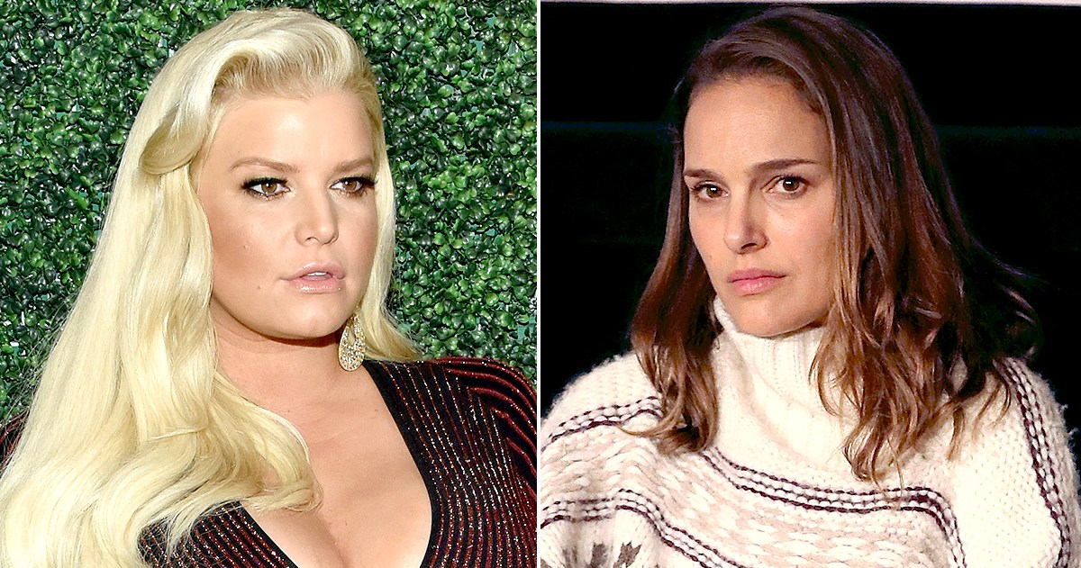 Jessica Simpson Slams Natalie Portman's 'Virgin in a Bikini' Comments