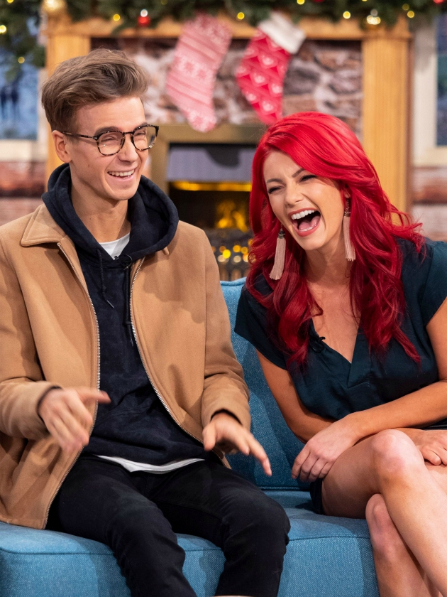Strictly Come Dancing's Joe Sugg REFUSES to deny Dianne romance