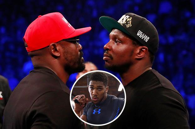 Anthony Joshua to be ringside for Dillian Whyte vs Dereck Chisora with winner setting up Wembley showdown in April
