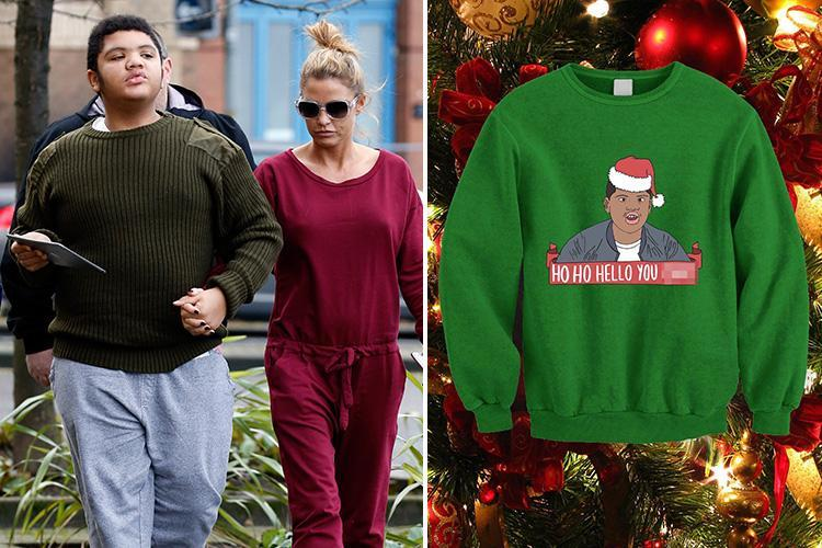Harvey Price 'hello you c***' Christmas jumpers sell out on Etsy but eBay pull them from site after furious mum Katie slammed them