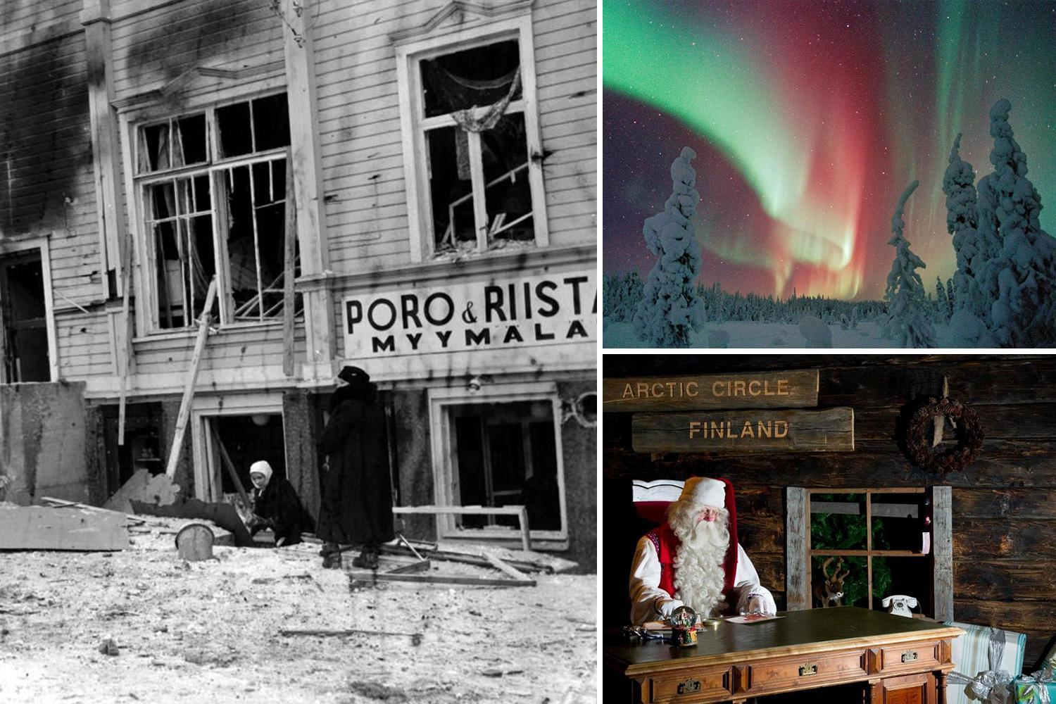 The dark history of Father Christmas' Lapland that was burned to the ground by Nazis, has 2,500 bodies in a mass grave and ghosts of children haunting the skies
