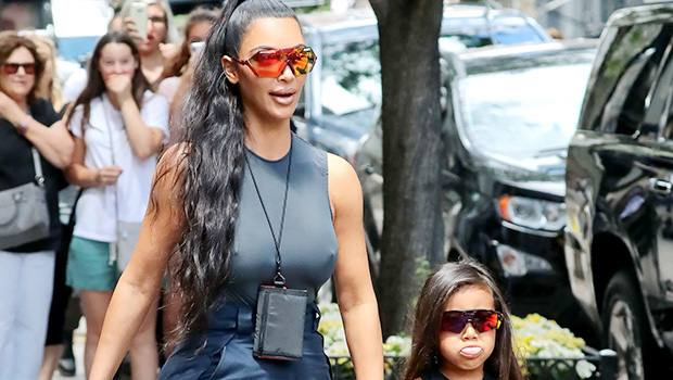 Kim Kardashian Looks Exactly Like North West In Throwback Photo & Fans Are In Awe
