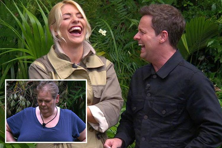Declan Donnelly mocks Anne Hegerty asking 'who can we rule out of trials now?' after her I'm A Celeb exit