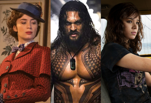 'Aquaman' Darting To $120M+ In Competitive Christmas 5-Day Corridor – Box Office Preview