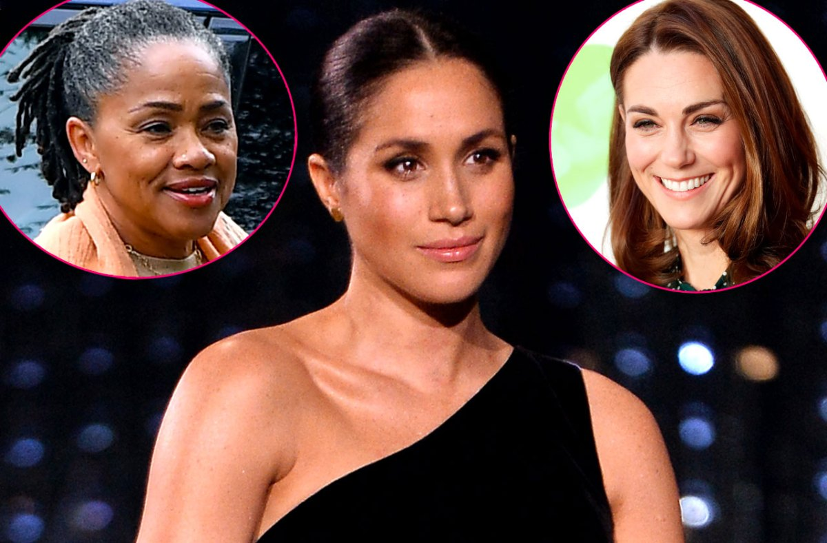 Lonely Meghan! Markle's Mother Will Not Join Royal Family For Christmas